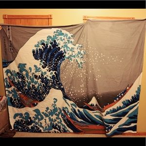 Giant Wave Tapestry